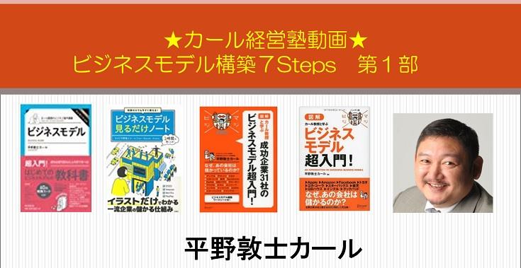 ビジネスモデル構築7Steps