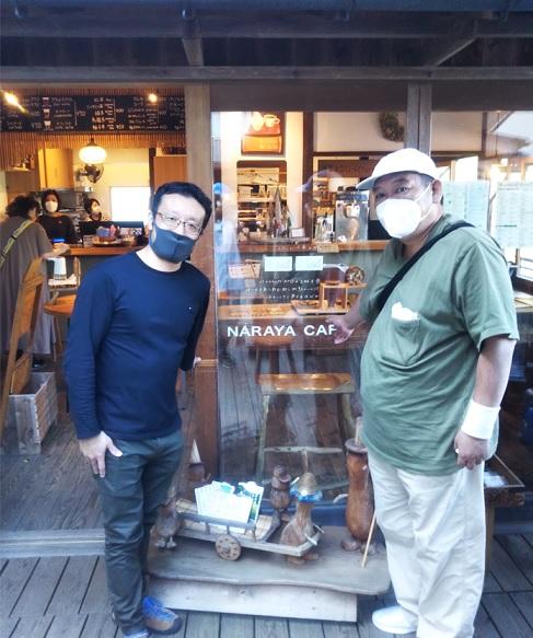 奈良屋カフェ安藤さんと